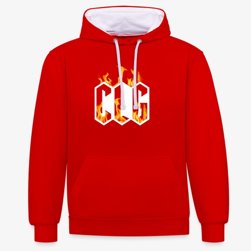 CLG DESIGN - Sweat-shirt contraste