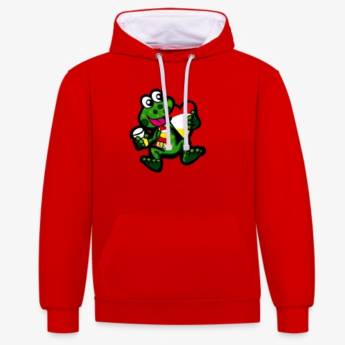 Oeteldonk Kikker - Contrast hoodie