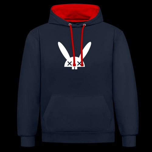 HARE5 LOGO TEE - Contrast Colour Hoodie