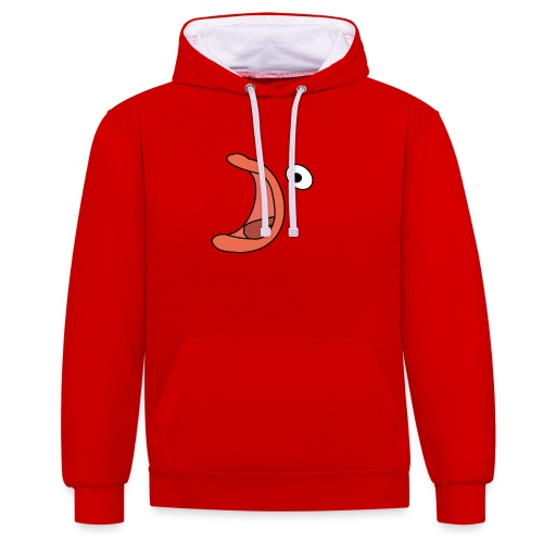 fish png - Contrast Colour Hoodie