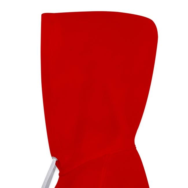 Vorschau: Vorsicht vor der Reiterin - Kontrast-Hoodie