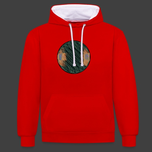 Ball - Contrast Colour Hoodie