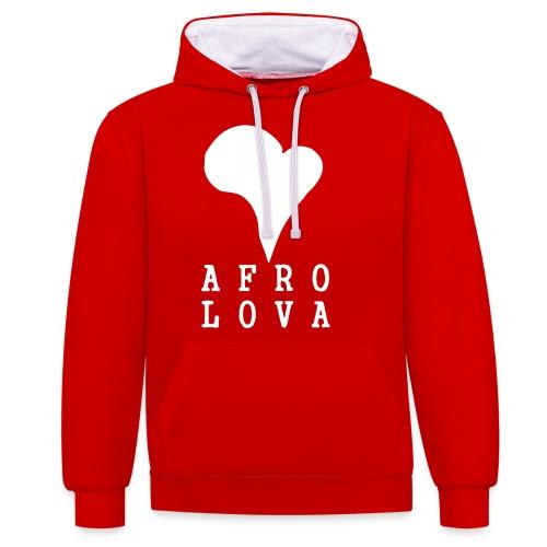 Afro Lova Original - Sweat-shirt contraste