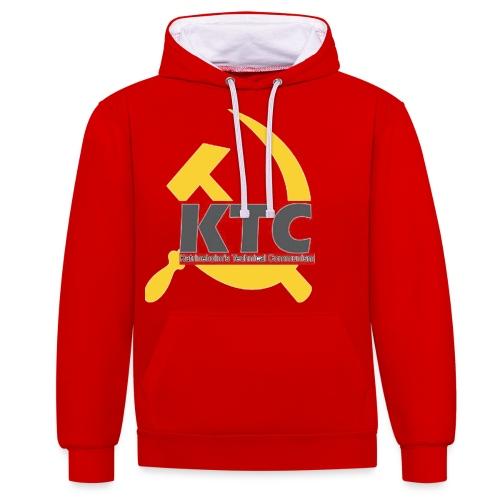 kto communism shirt - Kontrastluvtröja