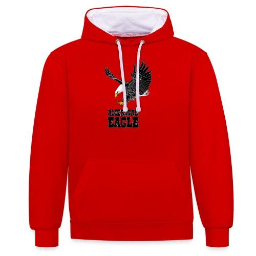 American eagle - Contrast hoodie
