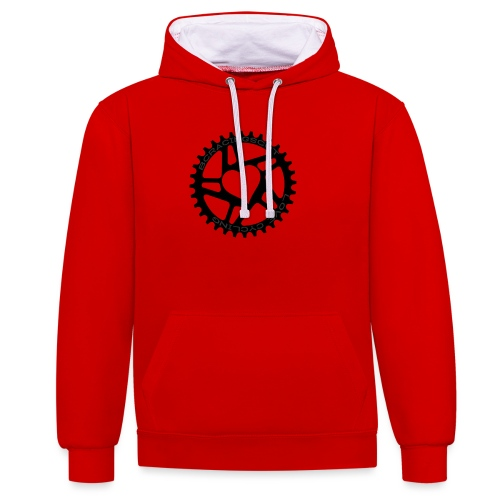 LOVE CHAINRING Tee - Contrast Colour Hoodie