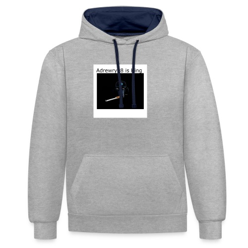 Archie Is Gay - Contrast Colour Hoodie