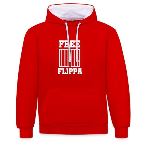 Free Flippa Wit - Contrast hoodie