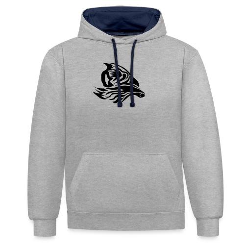 Aigle Abstrait - Sweat-shirt contraste