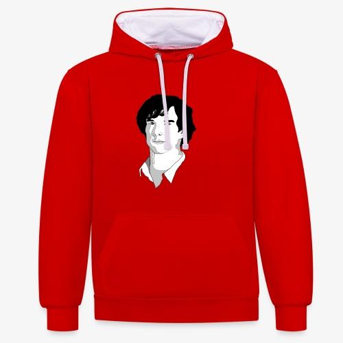 Sherlock Holmes - Contrast hoodie