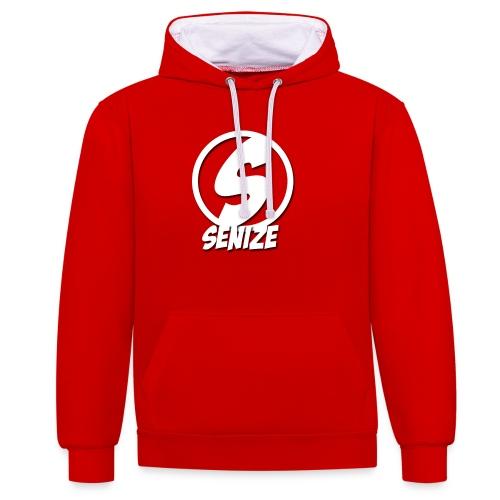 Senize voor vrouwen - Contrast hoodie