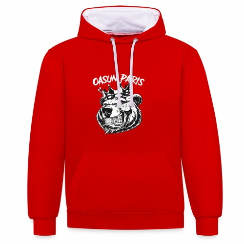 Oasun Paris - Sweat-shirt contraste