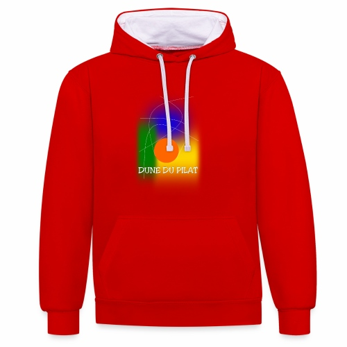 DUNE OF THE PILAT Trend - Contrast Colour Hoodie