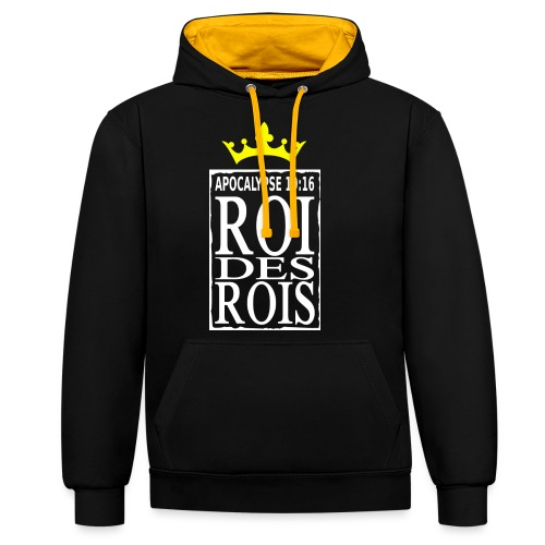 rdrWhite RefOver CrownYel - Sweat-shirt contraste