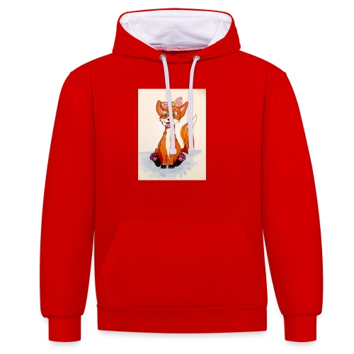 7095A012 2DFD 428F A704 98066BE12671 - Contrast Colour Hoodie