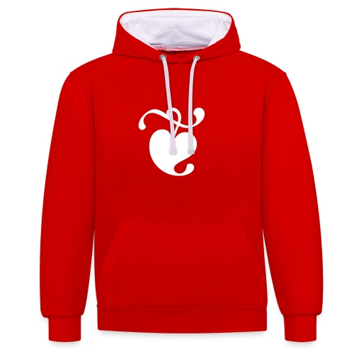 TDKOL Heart - Contrast Colour Hoodie