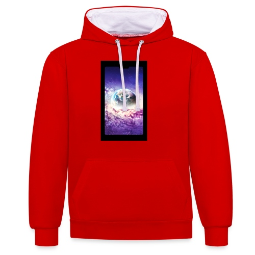 Univers - Sweat-shirt contraste