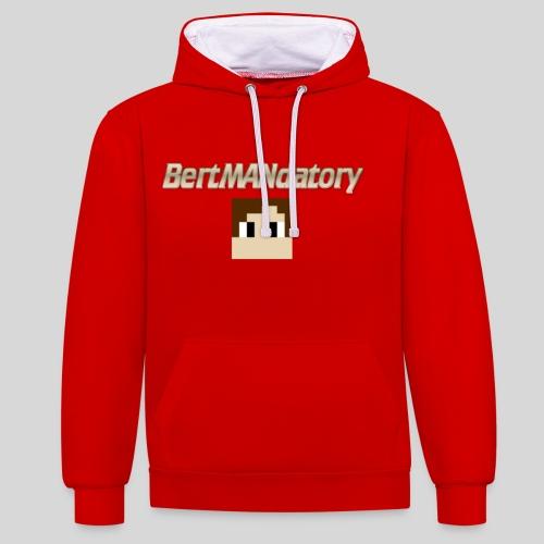 BertMANdatory Merch - Contrast Colour Hoodie