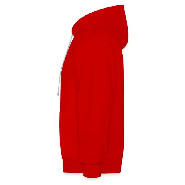 Vorschau: Männer Premium T-Shirt - Kontrast-Hoodie