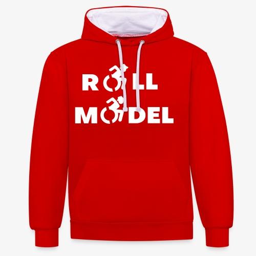 Rolstoel roll model 003 - Contrast hoodie