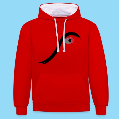 Eyed - Contrast Colour Hoodie