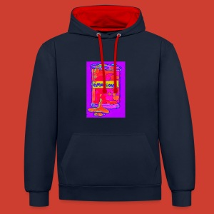 Canned Emotions - Contrast Colour Hoodie