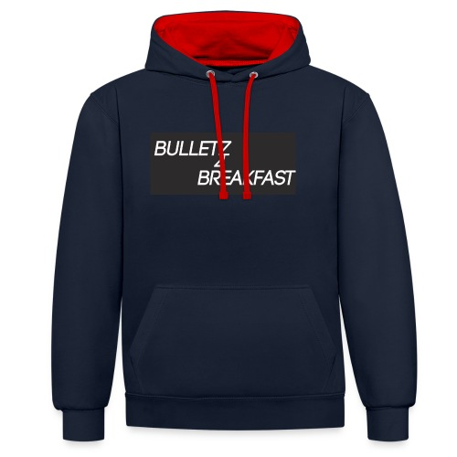 bulletz4breakfast_t-shirt - Contrast Colour Hoodie