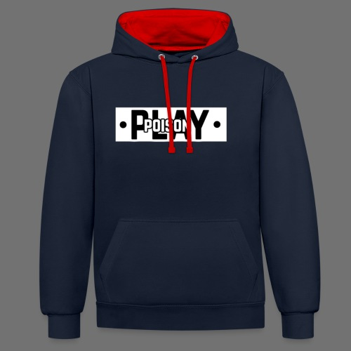 Poisonplay merchandise grote versie - Contrast hoodie