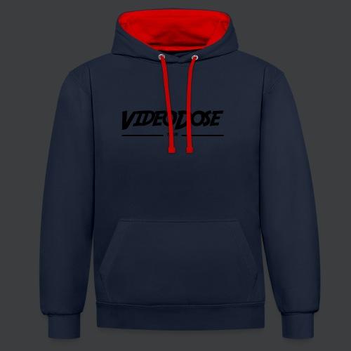 t-shirt_design_VideoDose - Contrast hoodie