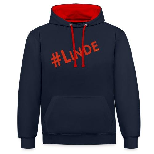 #linde2018 - Kontrast-Hoodie