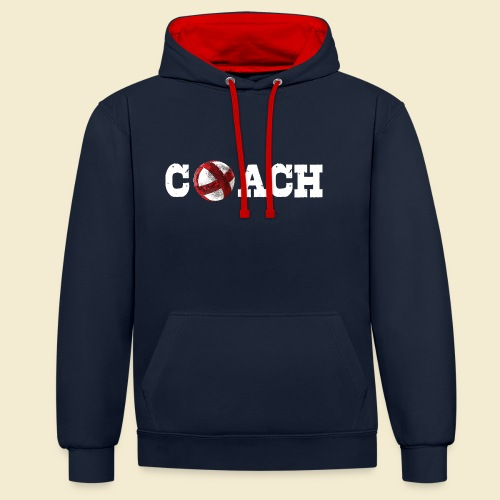 Radball   Coach - Kontrast-Hoodie