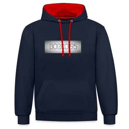 Borkowoef95 - Contrast hoodie