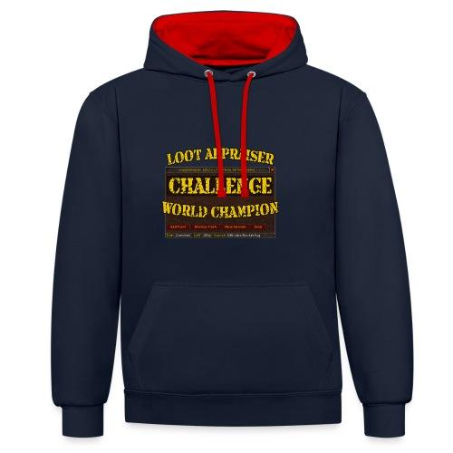 Loot Appraiser World Champion - Kontrast-Hoodie