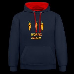 Wortel Killer [Teenager Premium T-Shirt] - Contrast hoodie