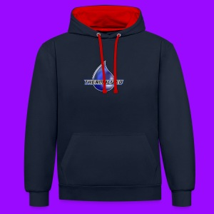 Thermalized logo - Contrast Colour Hoodie