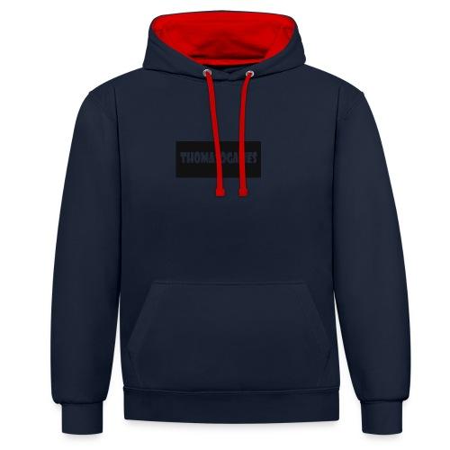 ThomasoGames Logo - Contrast hoodie