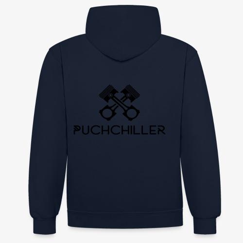 PuchChiller - Kontrast-Hoodie