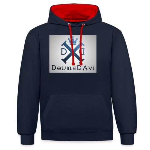 DoubleDAvi X - Kontrast-Hoodie
