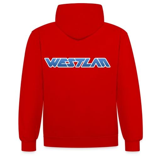 WestLAN Logo - Contrast Colour Hoodie