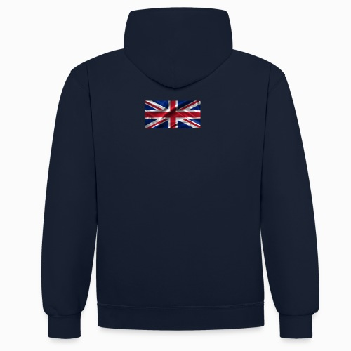 Station-Logo-20-02-16 - Contrast Colour Hoodie
