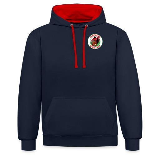 Eurobowl Wales 2018 - Contrast Colour Hoodie