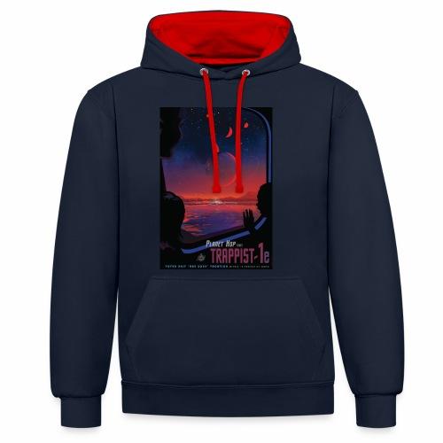 Vision du futur sur Trappist - Sweat-shirt contraste
