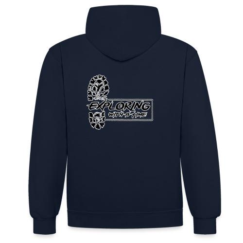 logotrns 2500 - Contrast hoodie