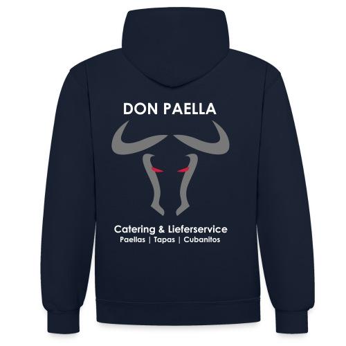 Don Paella 3 - Kontrast-Hoodie