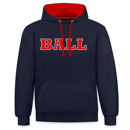 Ball002 - Kontrast-hettegenser