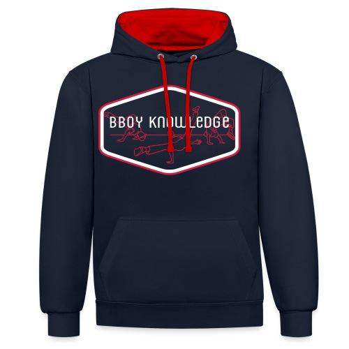 "Bboy Knowledge ""1st generation"" Logo - Sweat-shirt contraste"