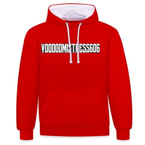 voodoologoletter - Sweat-shirt contraste