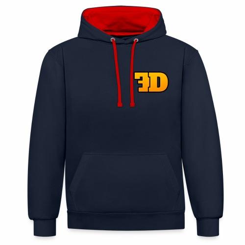 FD3 - Contrast Colour Hoodie
