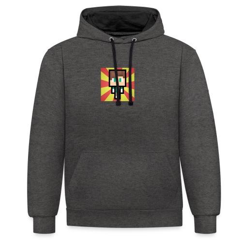 m crafter - Kontrast-hættetrøje