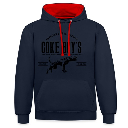 coke boys knl - Sweat-shirt contraste